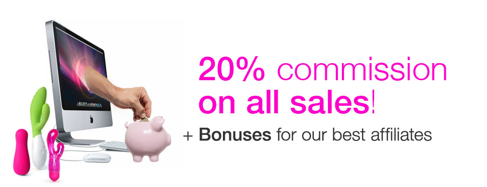 20% commission on all sales + Bonuses for our best affiliates