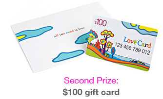 A $100 gift card