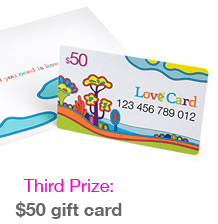 A $50 gift card