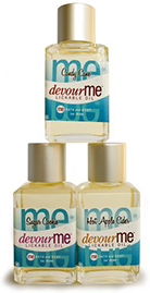 Holiday devour me lickable body oil