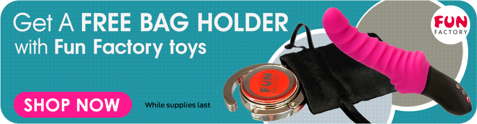 Get a free bag holder with fun factory toys