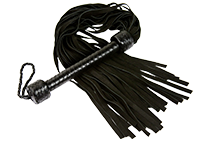 Eden long tail suede flogger