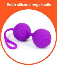 Eden silicone kegel balls
