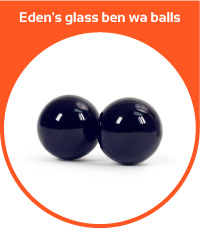 Eden's glass ben wa balls