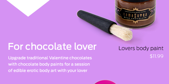 For chocolate lover