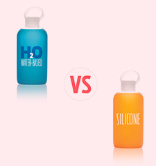 Water-based Lubes Vs. Silicone Lubes