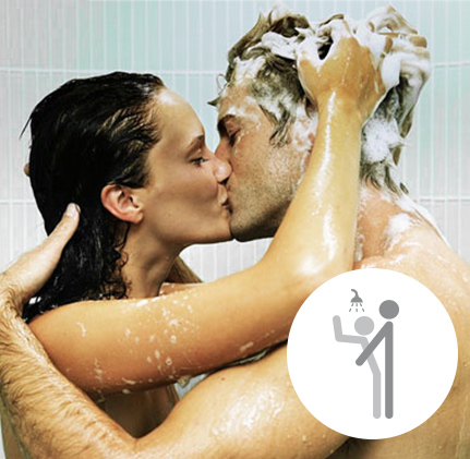 In The Shower: Doggie Style