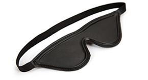 Eden leather blindfold